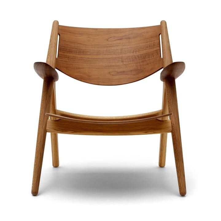 CH28T Lounge chair from Carl Hansen oiled in oak