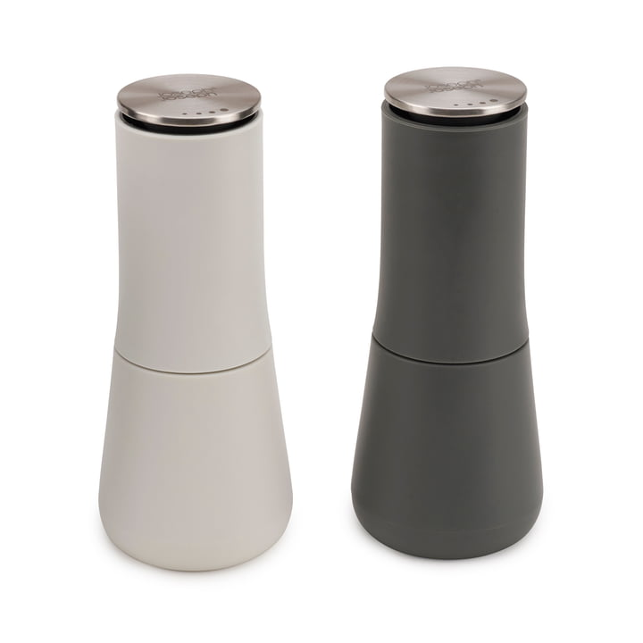Milltop salt and pepper mill set by Joseph Joseph