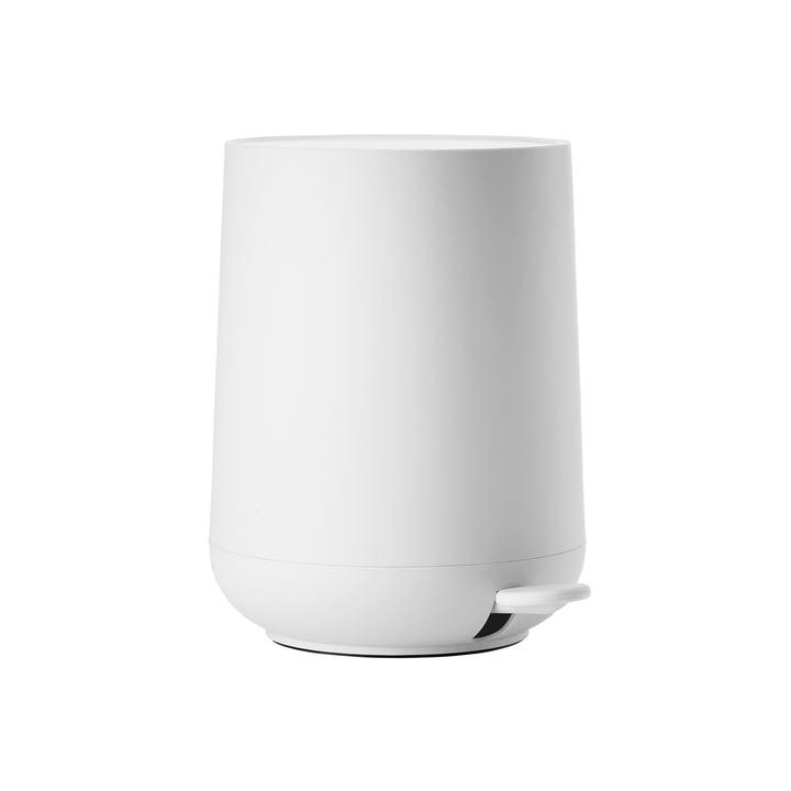 Nova pedal bin 3 L in white from Zone Denmark