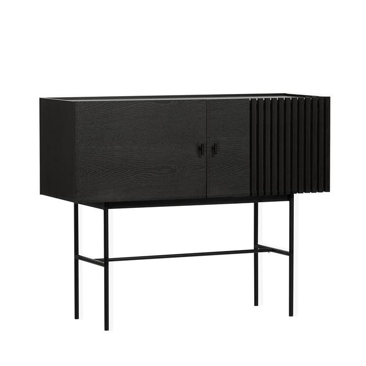 Array sideboard 120 cm from Woud in black
