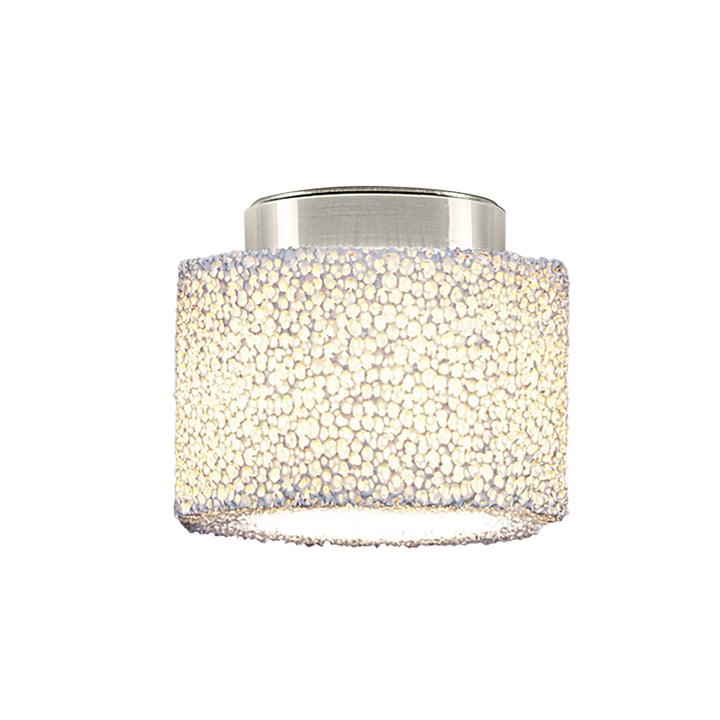 Reef LED ceiling light from serien.lighting polished aluminium