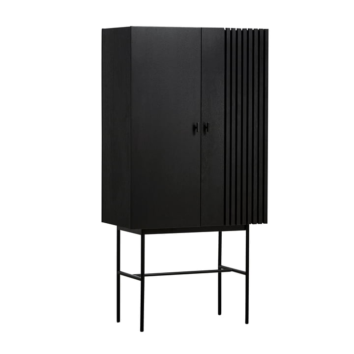 Array Highboard 80 cm in black by Woud