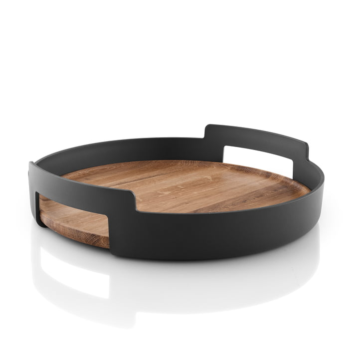 Nordic Kitchen serving tray by Eva Solo in oak / black