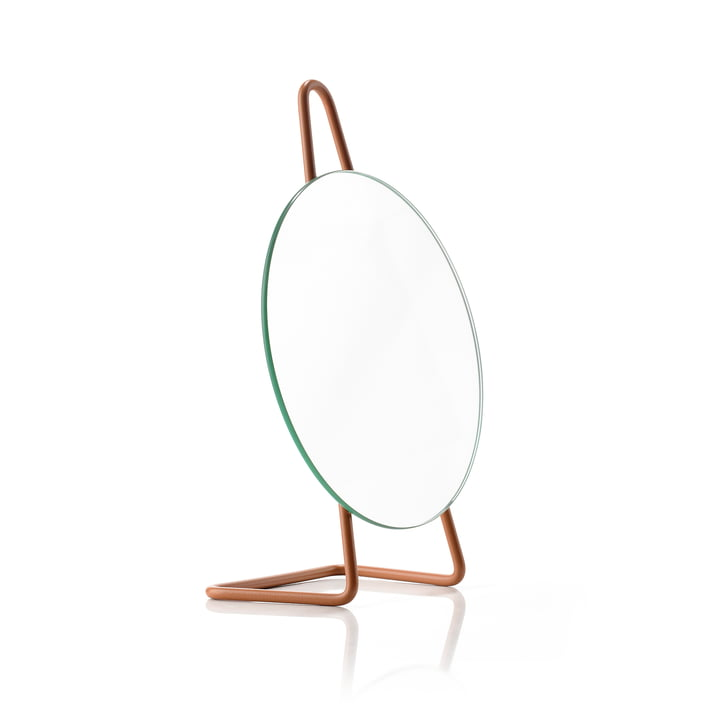 A-Mirror table mirror, amber from Zone Denmark