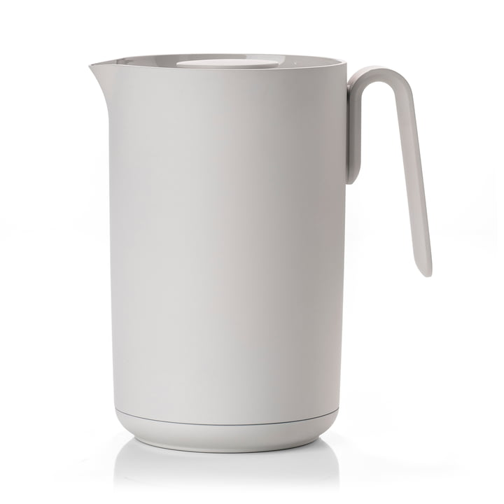 Singles thermos flask in soft grey from Zone Denmark
