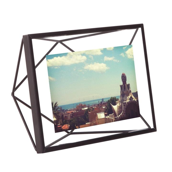 Prism picture frame 13 x 18 cm in black by Umbra