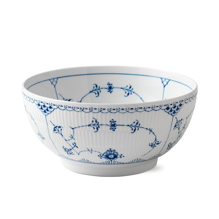Musselmalet half-tip bowl Ø 24 cm from Royal Copenhagen