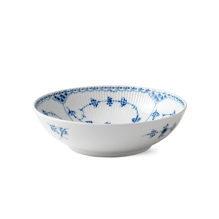 Musselmalet half-tip bowl Ø 21,5 cm from Royal Copenhagen