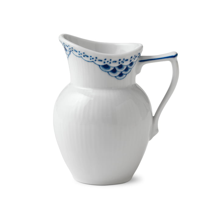 Princess Cream Caster 17 cl in white / blue from Royal Copenhagen