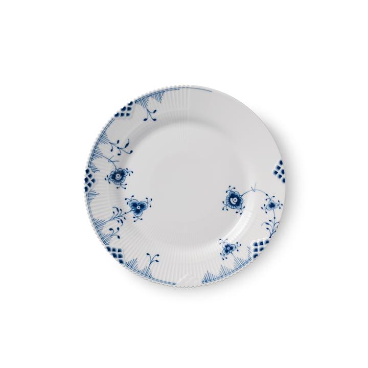 Elements Blue plate flat Ø 19 cm from Royal Copenhagen
