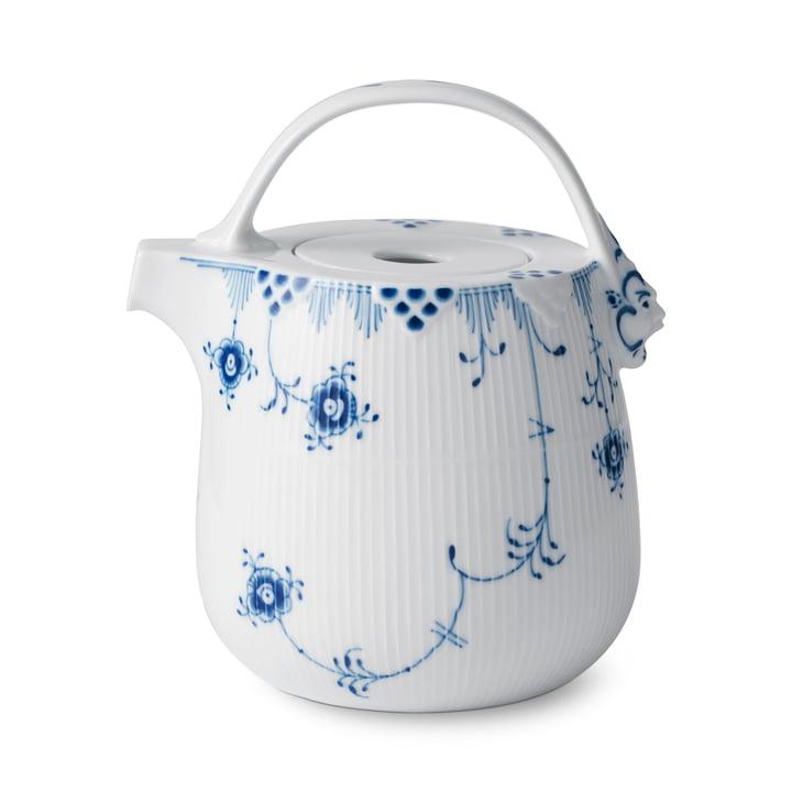 Elements Blue Teapot 95 cl in white / blue by Royal Copenhagen