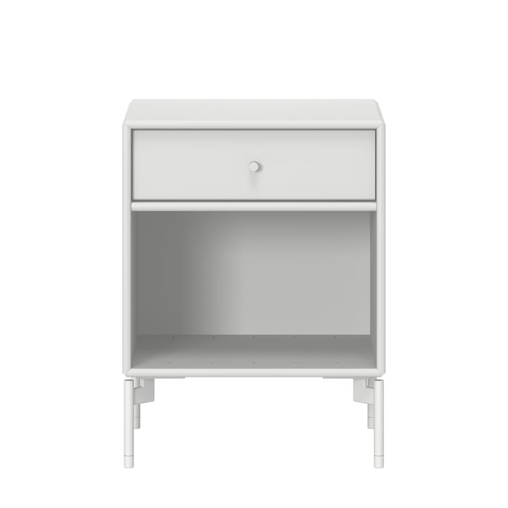 Dream bedside table with legs from Montana in new white