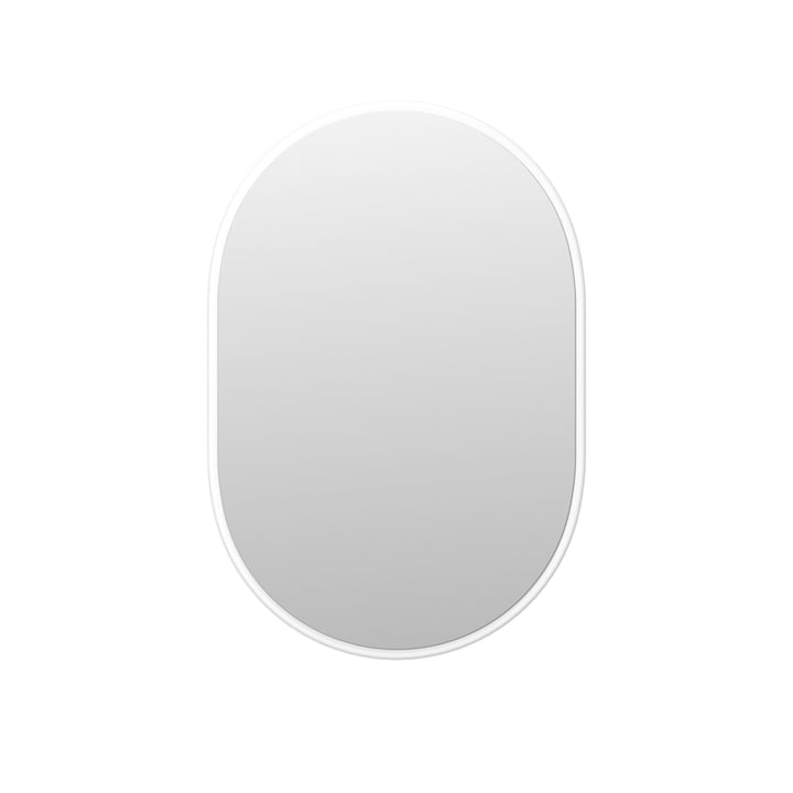 Look wall mirror H 69.6 cm by Montana in new white