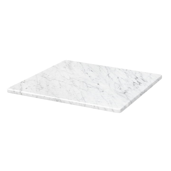 Cover plate for Panton Wire 34,8 x 34,8 cm from Montana in marble white