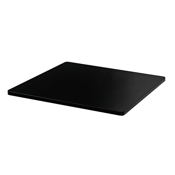 Cover plate for Panton Wire 34,8 x 34,8 cm from Montana in MDF black