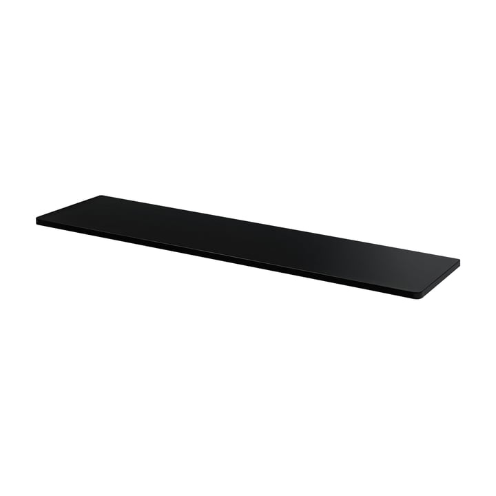 Cover plate for Panton Wire 70,1 x 18,8 cm from Montana in MDF black