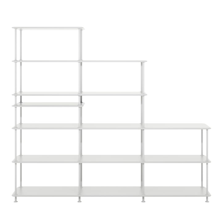Free shelf system Stepped 542100 from Montana in new white