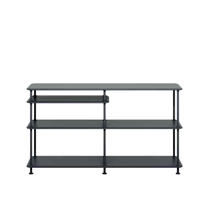 Free shelf system with clipboard 220100 from Montana in black