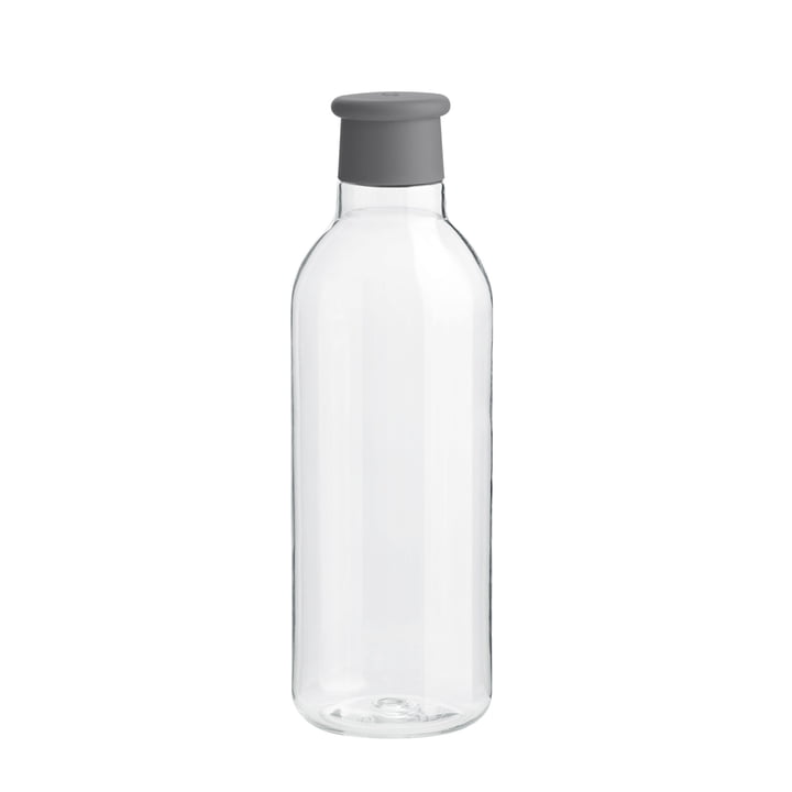 Drink-It water bottle 0.75 l from Rig-Tig by Stelton in grey