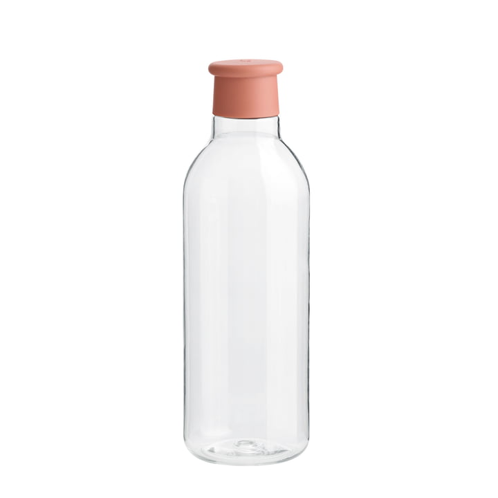 Drink-It Water bottle 0.75 l from Rig-Tig by Stelton in misty rose