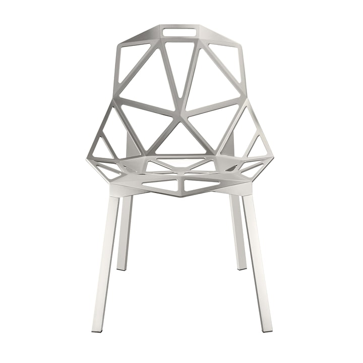 Chair One stacking chair by Magis in grey