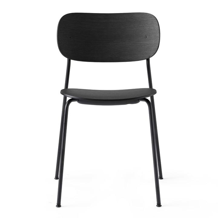 Co Dining Chair in black / oak black from Menu