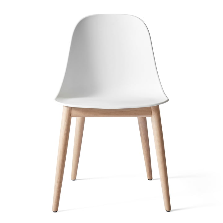 Harbour Dining Side Chair in natural oak / white by Menu