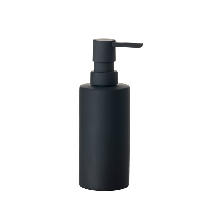 Solo soap dispenser in black matt from Zone Denmark