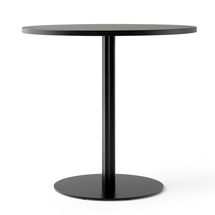 Harbour Column bistro table Ø 80 cm in oak black lacquered / black from Menu