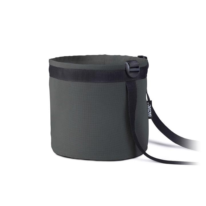 Pot Balcony plant bag 10 l of Bacsac in asphalt