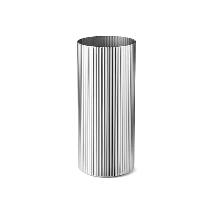 Bernadotte Vase medium in stainless steel polished by Georg Jensen