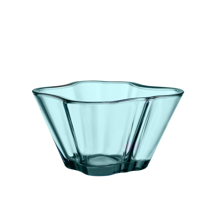 Aalto bowl 75 mm from Iittala in sea blue