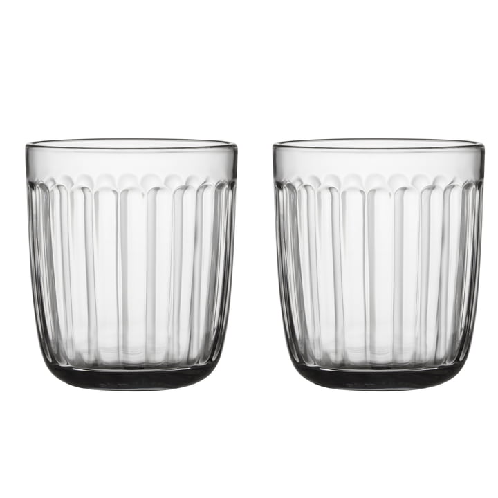 Raami drinking glass 26 cl (set of 2) from Iittala in clear