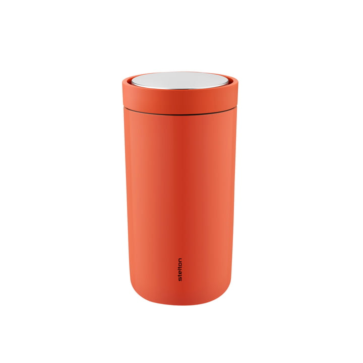 To Go Click 0.2 l double-walled from Stelton in soft rosehips