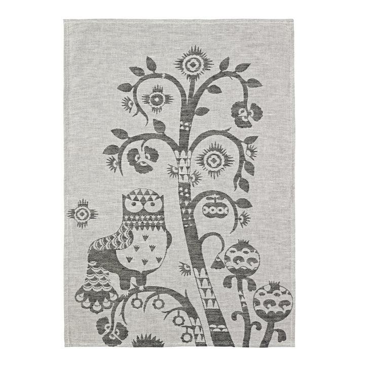 Taika tea towel 47 x 70 cm from Iittala in grey