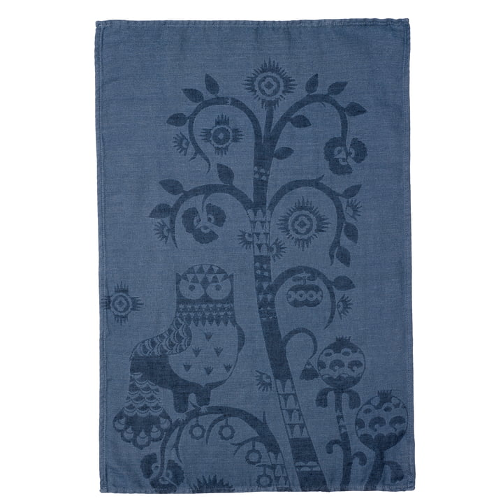 Taika tea towel 47 x 70 cm from Iittala in blue