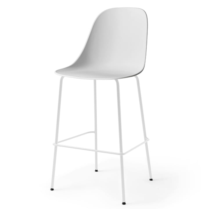 Harbour Side Bar Chair in light grey by Menu