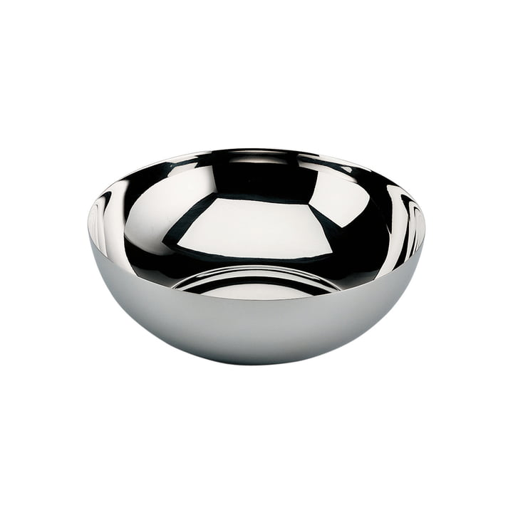 Bauhaus bowl deep from Alessi in stainless steel glossy polished
