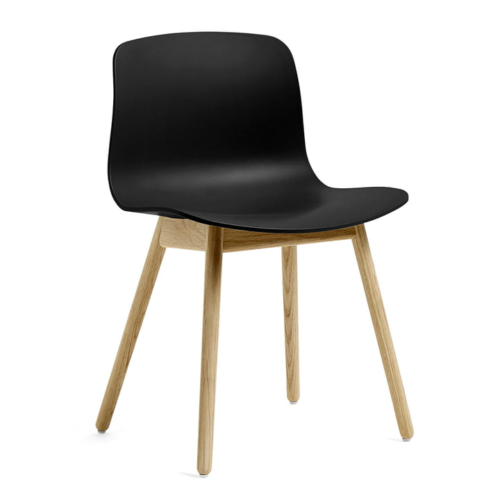About A Chair AAC 12 by Hay in matt lacquered oak / black