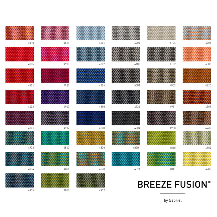 Fabric card Breeze Fusion by Gabriel