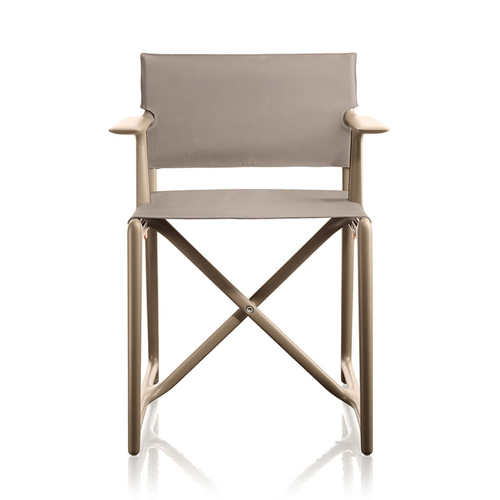 Stanley director chair by Magis in beige