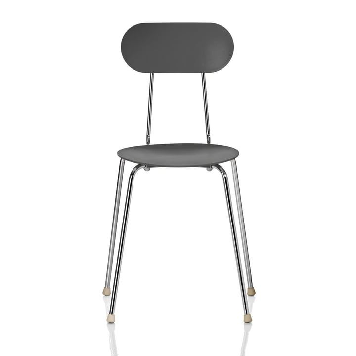 Mariolina chair by Magis in anthracite grey