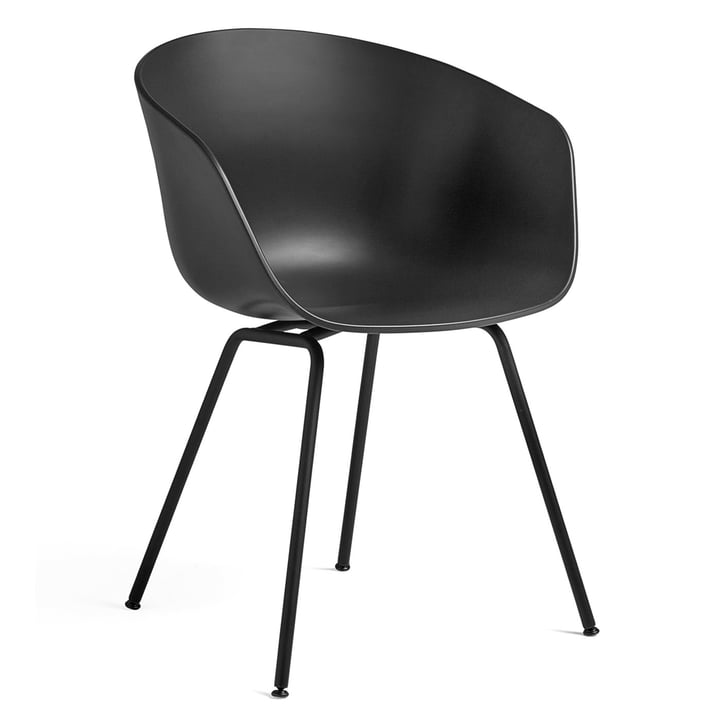 About A Chair AAC 26 by Hay in steel black / black