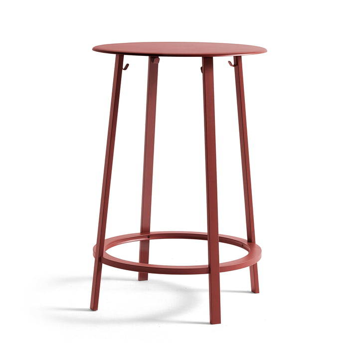 Eevolver bar table Ø 70 x H 105 cm from Hay in red