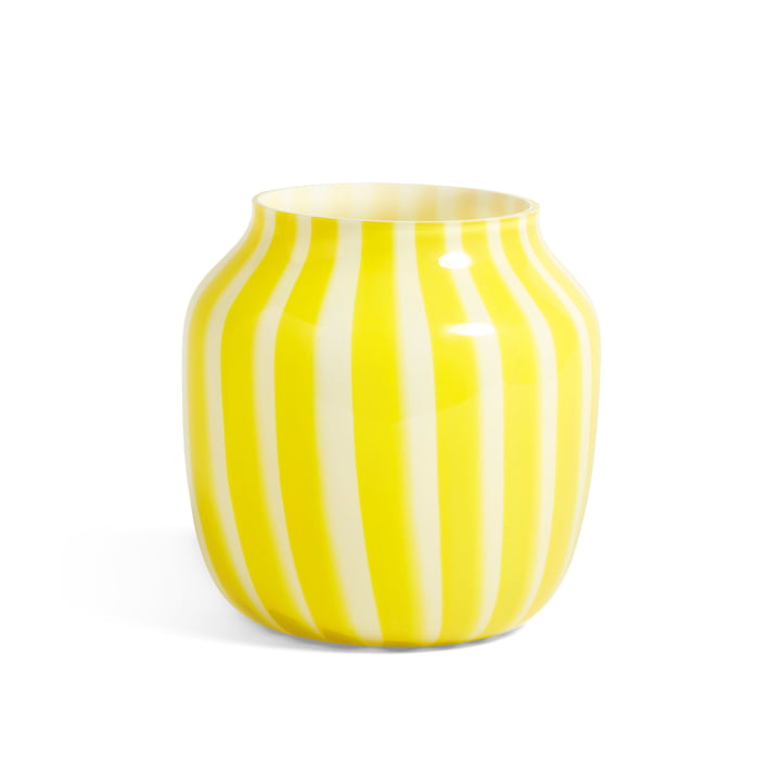 Juice Vase Ø 22 x H 22 cm from Hay in yellow