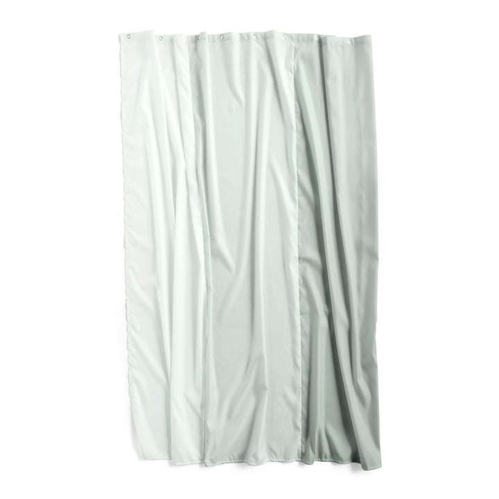 Watercolour shower curtain 200 x 180 cm by Hay in vertical eucalyptus