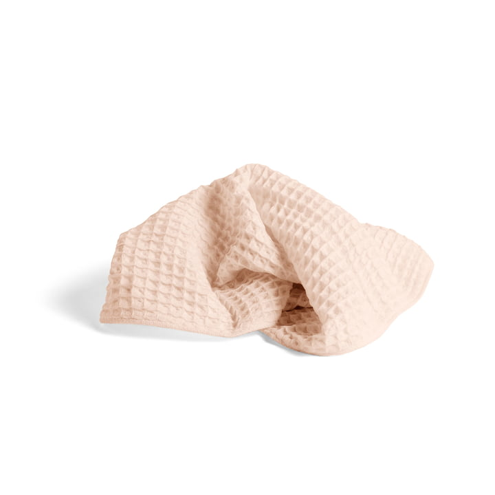 Giant Waffle towel 100 x 50 cm by Hay in peach