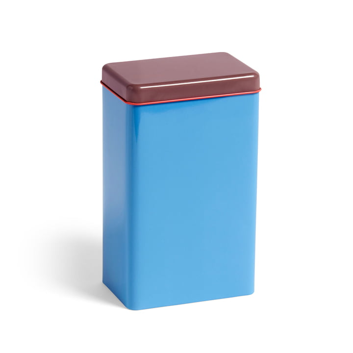 Tin by Sowden storage tin by Hay in blue