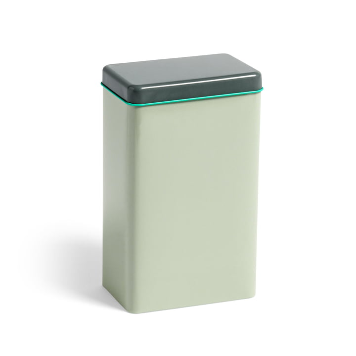 Tin by Sowden storage tin by Hay in mint