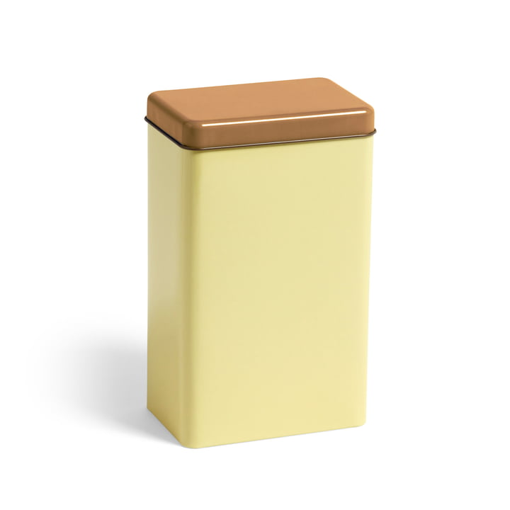Tin by Sowden storage tin by Hay in yellow